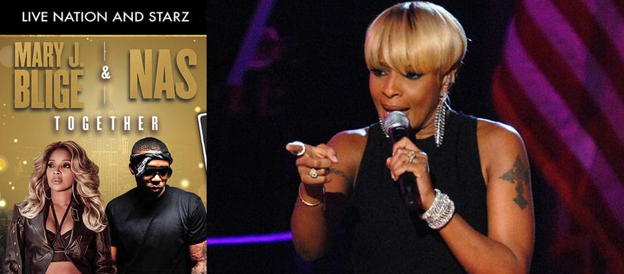 Mary J Blige and Nas at Shoreline Amphitheatre