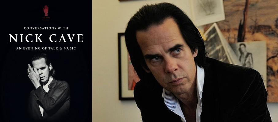 Conversations with Nick Cave at Davies Symphony Hall