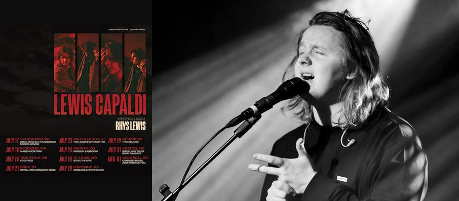 Lewis Capaldi at Fox Theatre Oakland