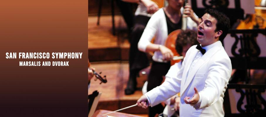San Francisco Symphony - Marsalis and Dvorak at Davies Symphony Hall