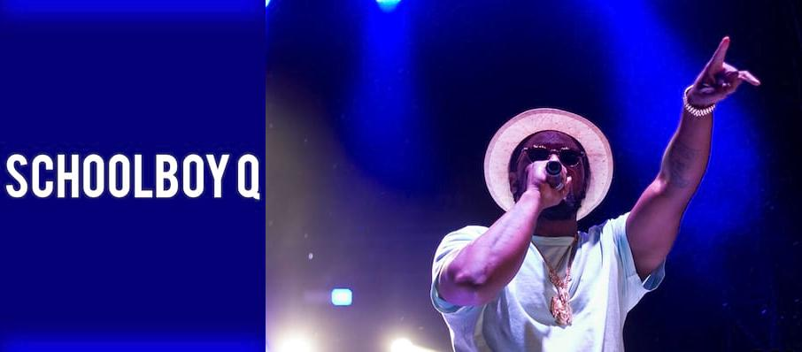 Schoolboy Q at Bill Graham Civic Auditorium