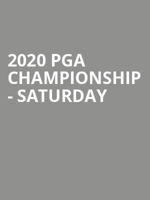 2020 PGA Championship - Saturday at TPC Harding Park