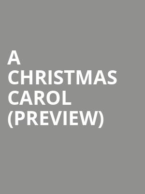 A Christmas Carol %28Preview%29 at A.C.T Geary Theatre