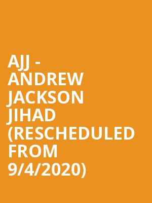 AJJ - Andrew Jackson Jihad (Rescheduled from 9/4/2020) at Great American Music Hall