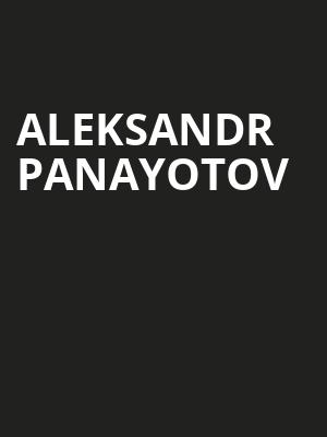 Aleksandr Panayotov at Herbst Theater