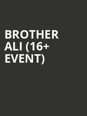 Brother Ali %2816%2B Event%29 at The Catalyst