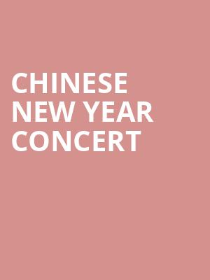 Chinese New Year Concert at Davies Symphony Hall