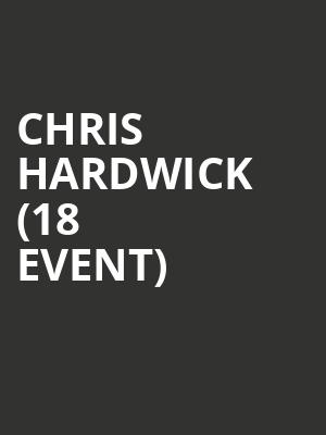 Chris Hardwick (18+ Event) at Punch Line Comedy Club