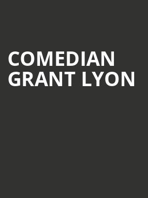 Comedian Grant Lyon at Punch Line Comedy Club