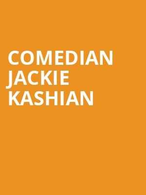 Comedian Jackie Kashian at Punch Line Comedy Club