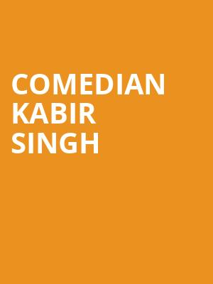 Comedian Kabir Singh at Punch Line Comedy Club
