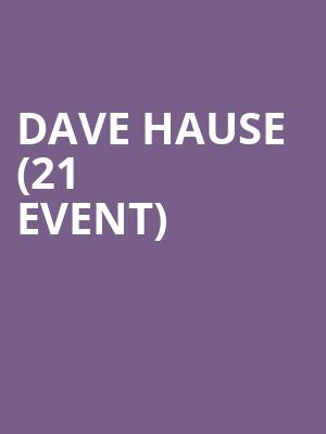 Dave Hause (21+ Event) at Slims