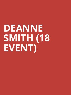 DeAnne Smith (18+ Event) at Cobbs Comedy Club