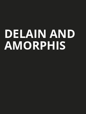 Delain and Amorphis at Slims