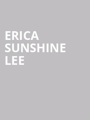 Erica Sunshine Lee at Great American Music Hall