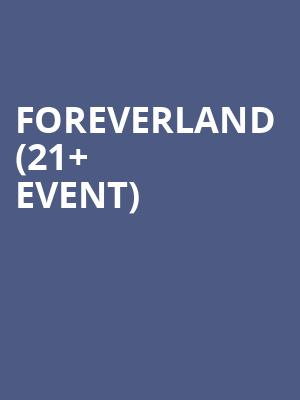 Foreverland %2821%2B Event%29 at Bimbos 365 Club