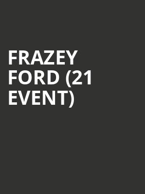 Frazey Ford (21+ Event) at The Independent