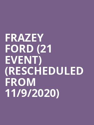Frazey Ford (21+ Event) (Rescheduled from 11/9/2020) at The Independent