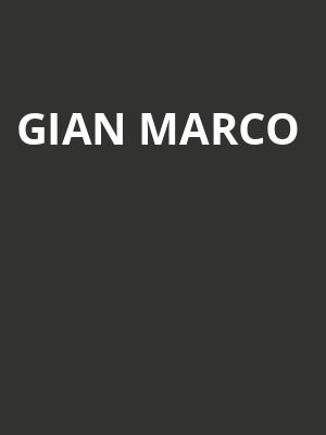 Gian Marco at The Fillmore