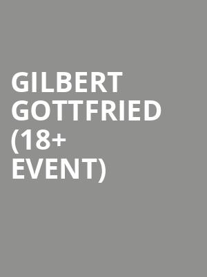 Gilbert Gottfried %2818%2B Event%29 at Cobbs Comedy Club