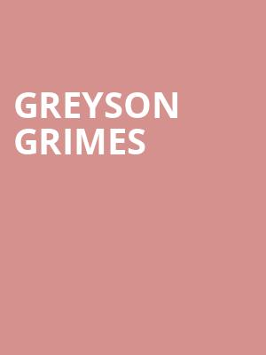 Greyson Grimes at Brick & Mortar Music Hall