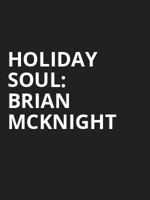 Holiday Soul: Brian McKnight & the SFS at Davies Symphony Hall