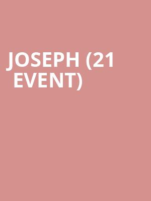 Joseph (21+ Event) at McNear's Mystic Theatre