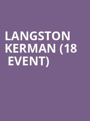 Langston Kerman (18+ Event) at Punch Line Comedy Club