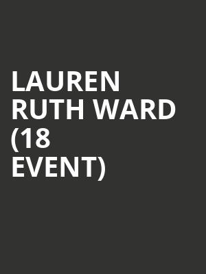 Lauren Ruth Ward (18+ Event) at Cafe Du Nord
