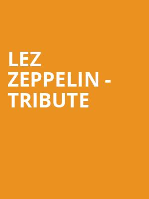 Lez Zeppelin - Tribute at Great American Music Hall