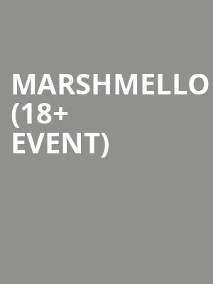 Marshmello %2818%2B Event%29 at Bill Graham Civic Auditorium