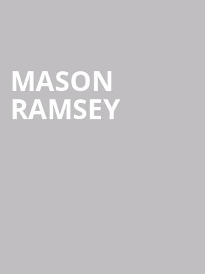 Mason Ramsey at Great American Music Hall