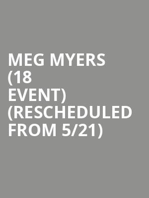 Meg Myers (18+ Event) (Rescheduled from 5/21) at Rickshaw Stop