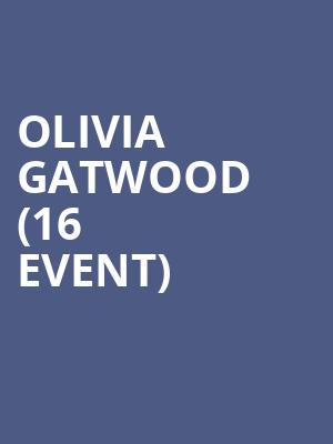 Olivia Gatwood (16+ Event) at The Catalyst