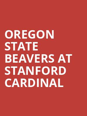 Oregon State Beavers at Stanford Cardinal at Maples Pavilion