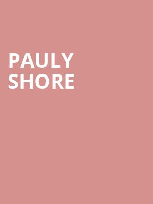 Pauly Shore at Cobbs Comedy Club
