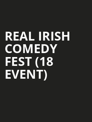 Real Irish Comedy Fest (18+ Event) at Cobbs Comedy Club