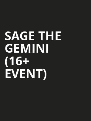 Sage The Gemini %2816%2B Event%29 at The Catalyst