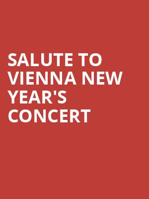 Salute to Vienna New Year's Concert at Davies Symphony Hall