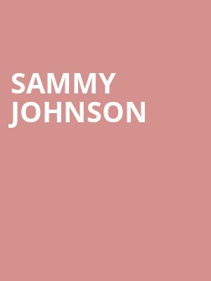 Sammy Johnson at The Fillmore