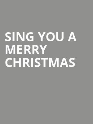 Sing You A Merry Christmas at Grace Cathedral