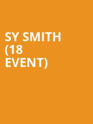 Sy Smith (18+ Event) at Brick & Mortar Music Hall