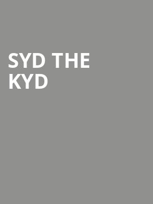 Syd The Kyd at Regency Ballroom