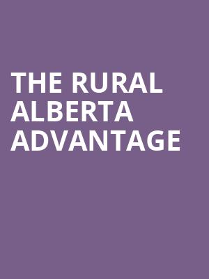 The Rural Alberta Advantage at Great American Music Hall