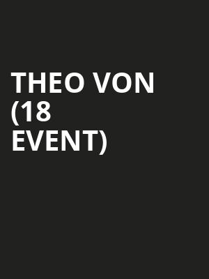 Theo Von (18+ Event) at Cobbs Comedy Club