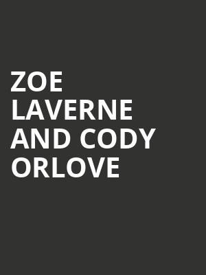 Zoe Laverne and Cody Orlove at Great American Music Hall