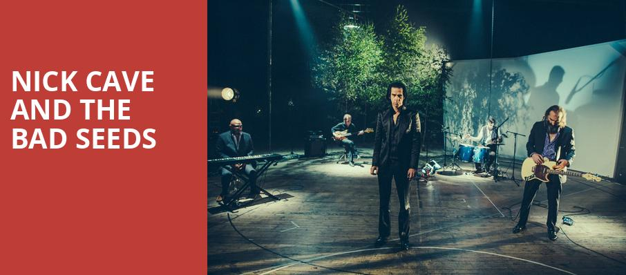 Nick Cave and The Bad Seeds, The Greek Theatre Berkley, San Francisco