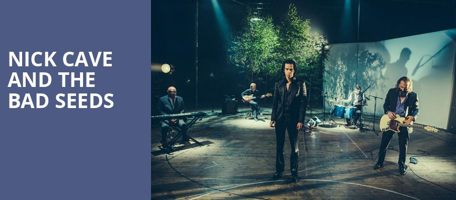 Nick Cave and The Bad Seeds, Bill Graham Civic Auditorium, San Francisco
