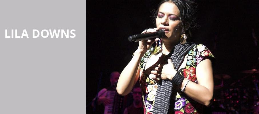 Lila Downs, Zellerbach Hall, San Francisco