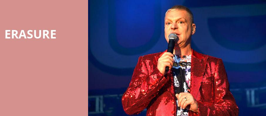 Erasure, Nob Hill Masonic Center, San Francisco